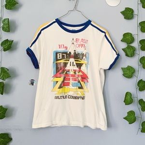Vintage Style Graphic Tee